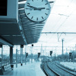 train station — Stock Photo