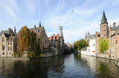 Autumn in Bruges — Stock Photo