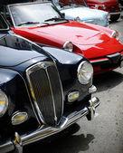 ретро автомобили — Стоковое фото