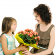 Mother with daughter — Stock Photo #30725881