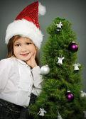 Noel portre — Stok fotoğraf