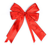 Red bow — Stock fotografie