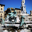 The fountain of Neptune — Stock Photo