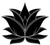 Lotus 034 — Stock Vector
