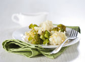 Cauliflower gratin — Stock Photo