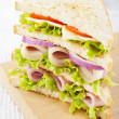Club sandwich — Stock Photo