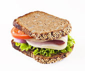 Healthy sandwich — Stock Photo