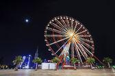 Ferris Wheel in Batumi, Georgia — Stock Photo