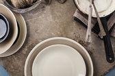 Utensílios de mesa vintage — Foto Stock