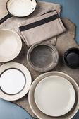 Vintage tableware — Stock Photo