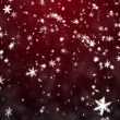 Christmas background with snowflakes - falling snow — Stock video #12572387
