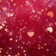 Hearts - Valentines Day background — Stock Video