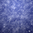 Stock Photo: The winter background, falling snowflakes