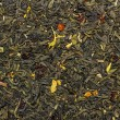 Green dried fruit tea — Stock Photo #18489689
