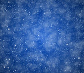 Stars on a blue background — Stock Photo