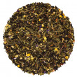 Stock Photo: Black green fruit herbal tea