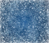 Falling snowflakes — Stock Photo