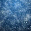 Frosty winter background — Stock Photo