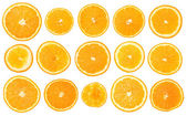 Fruit orange set — Stock Photo