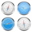 Stock Vector: Compasses