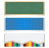 Education Banners — Stock Vector