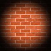 Old Brick Wall — Stock Vector