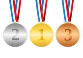 Medals — Stockvektor