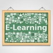 Stock Vector: E-Learning