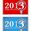 New Year Cards — Stock Vector