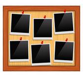 Photo Frames — Stock Vector