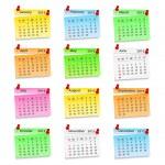 2013 Calendar — Stock Vector #13153582