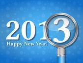 新年快乐 2013 — 图库矢量图片
