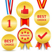 Awards — Stock Vector