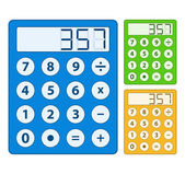 Calculator Icon — Vector de stock