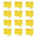 2013 Calendar — Stock Vector