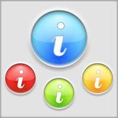 Information Icon — Stock Vector