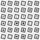 Conjunto de iconos web — Vector de stock