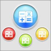Räknaren ikonen — Stockvektor