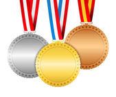 Medaillen — Stockvektor