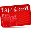 Royalty-Free Stock Imagen vectorial: Gift Card