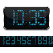 デジタル時計 — ストックベクタ
