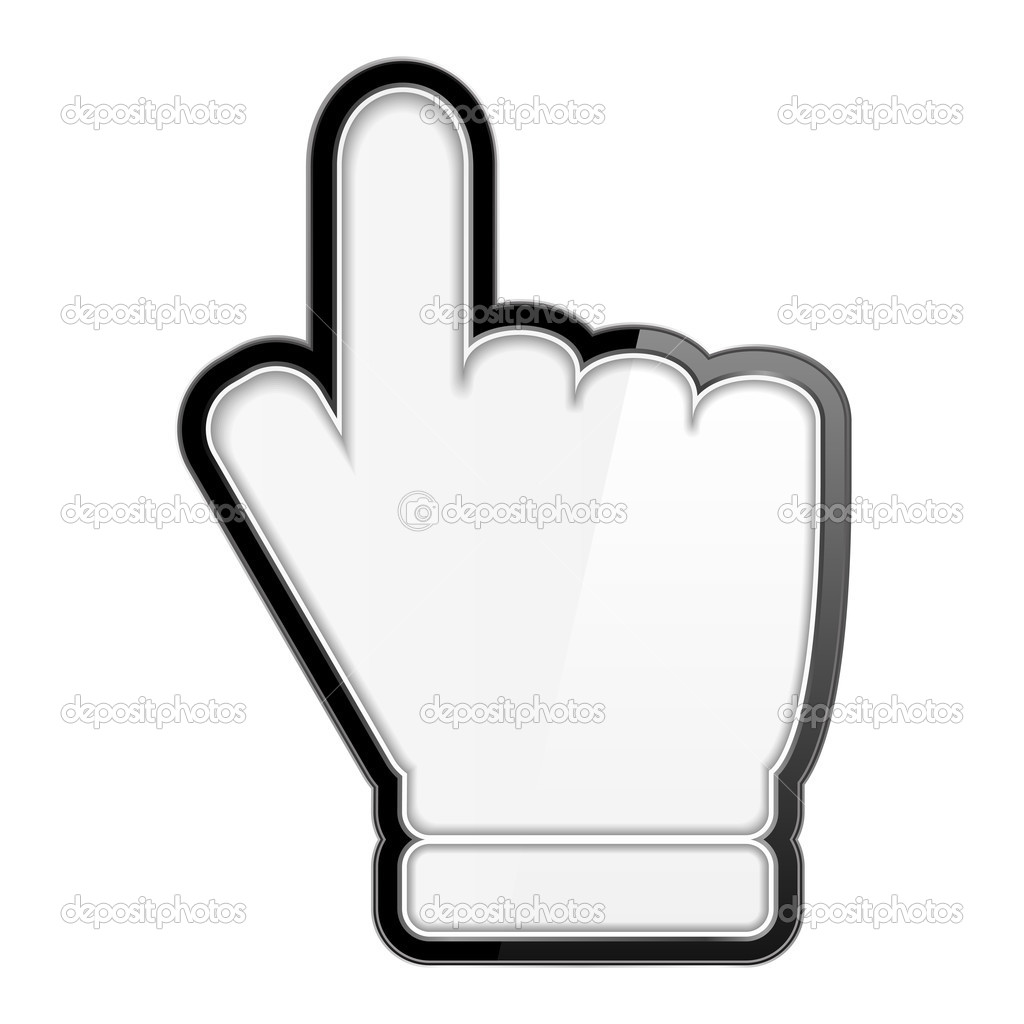 Open Hand Cursor Hand Icon Hand cursor ...