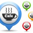 Royalty-Free Stock Imagem Vetorial: Cafe Icon