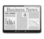 Business News — Stock Vector