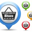 Stock Vector: Store Icon