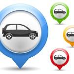 Car Icon — Stock Vector #23096558