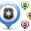 Vector de stock : Police Icon