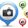 Royalty-Free Stock Immagine Vettoriale: Camera Icon