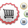 Shopping Cart Icon — Stock Vector #25073849