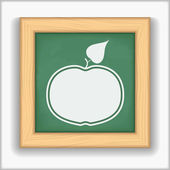 Apple-Symbol — Stockvektor